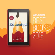 The best books of 2018 announced by Amazon book editors