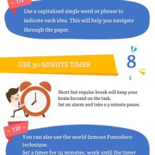 Ways become better writer no time full infographic