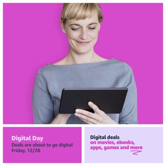 Amazon Digital Day 2018 - Kindle and Audible