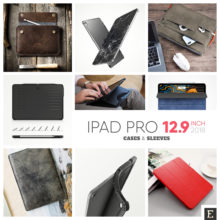 Best creative Apple iPad Pro 12.9 2018 case covers, sleeves, and bags