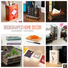 14 beautiful book-shaped home decor accessories and appliances