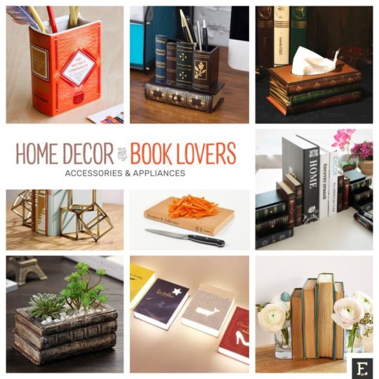 20 Beautiful Home Decor Essentials For Book Lovers
