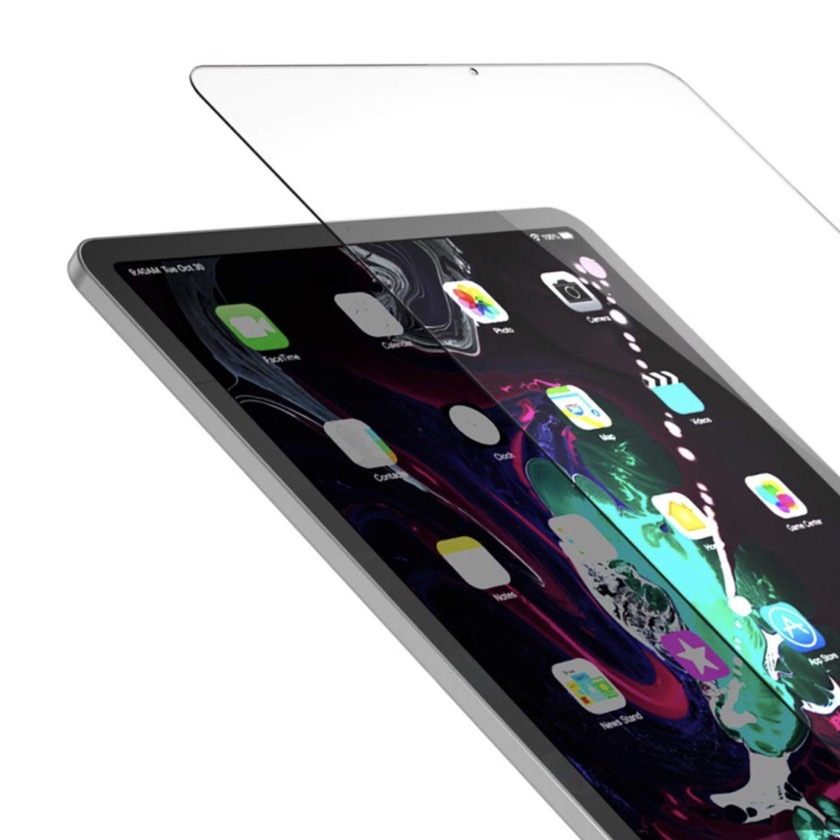 Best iPad Pro 2018 accessories - Maxboost tempered glass screen protector for 11 and 12.9 model
