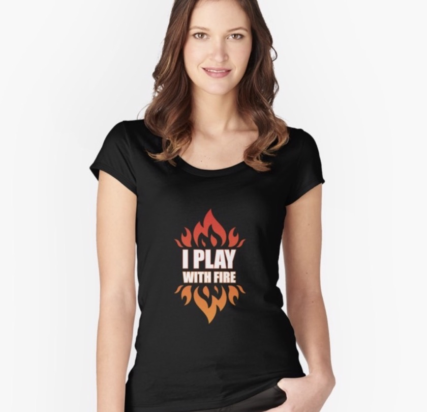 Gifts for Amazon Fire fans - t-shirts and personal accessories