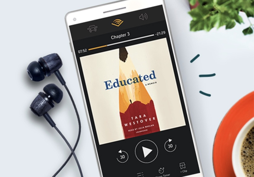 Gifts for Amazon Fire owners - Audible audiobooks
