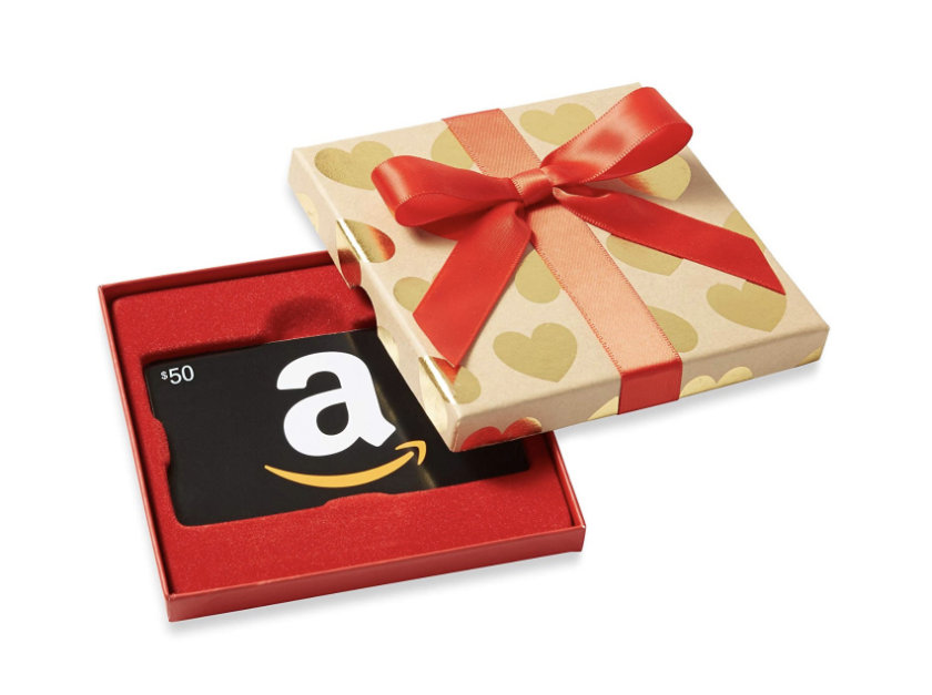 Gifts for Amazon Fire users - Amazon gift cards