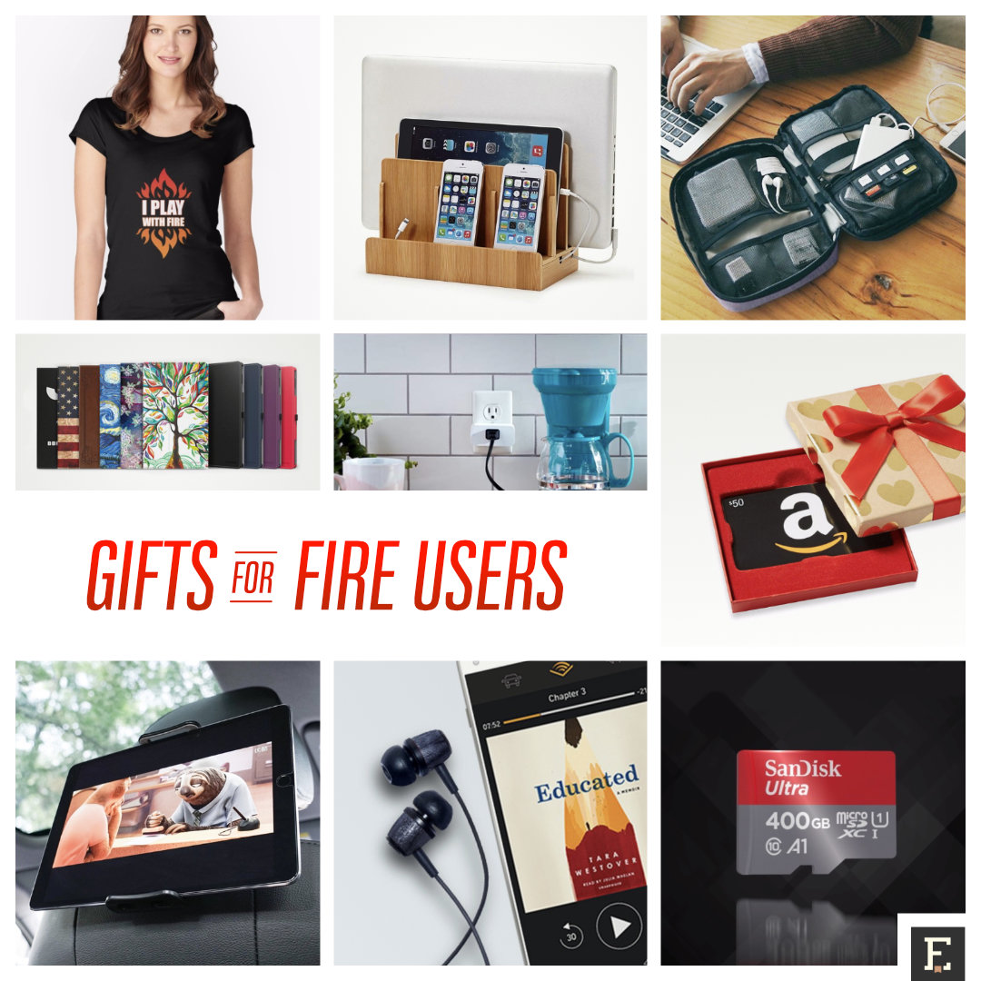 Gifts for Amazon Fire users - ideas and examples
