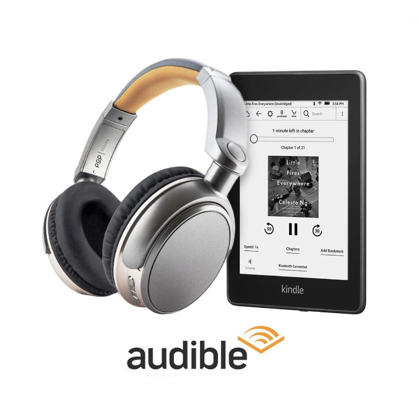 Kindle Paperwhite 2018 audiobook bundle on sale