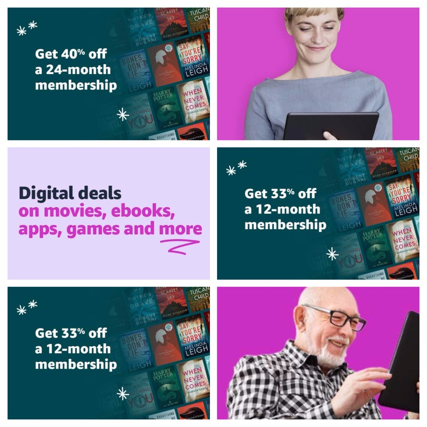 Kindle Unlimited deals on Amazon Digital Day 2018