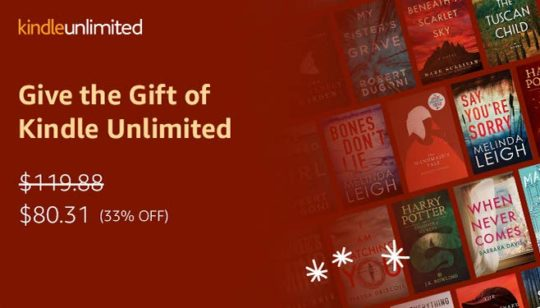 Kindle Unlimited gifting is back in the Kindle Store