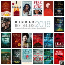 Kindle best sellers of 2018 in popular genres