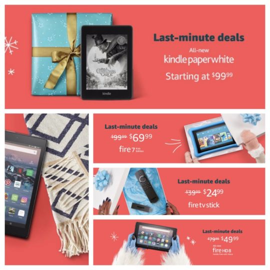 Last-minute deals on Amazon devices in 2018 - Kindle, Fire, Echo