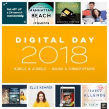The best Amazon Digital Day 2018 deals - Kindle and Audible - books, audiobooks, and subscriptions