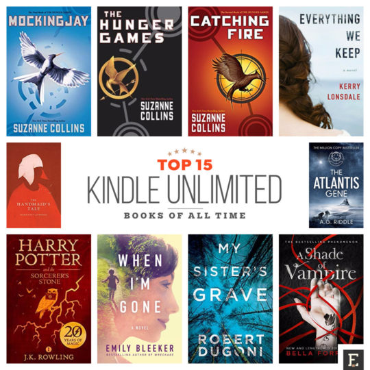 Here are 15 best Kindle Unlimited books of all time