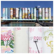 The bookshelf mural in Incheon is the largest in the world