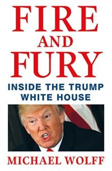 The most sold nonfiction book of 2018 - Fire and Fury by Michael Wolff