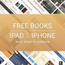 9 sites with free books for iPad and iPhone