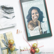 The most gifted book on Amazon in 2018 - Michelle Obama Becoming