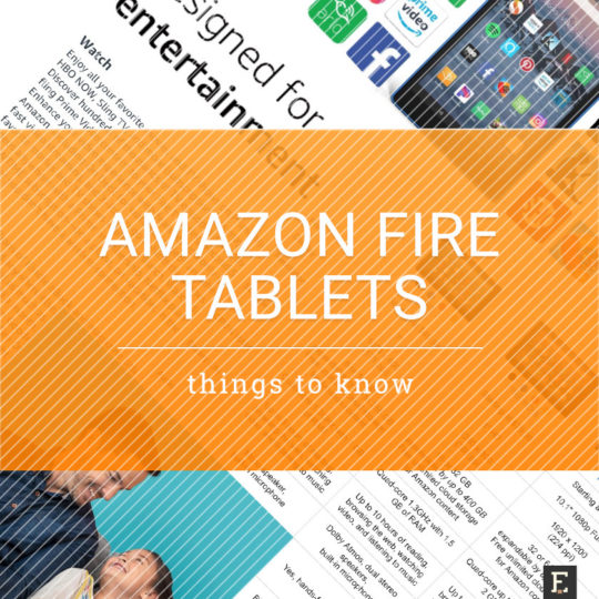 Tips, tricks, and things to know about Amazon Fire tablets
