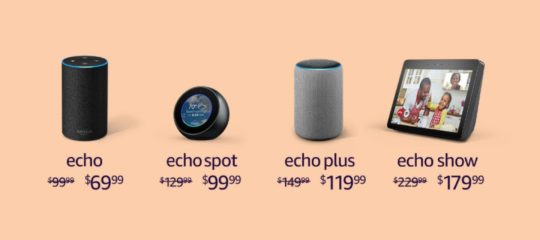 Save 50% on Echo Dot Kids Edition, get Echo 2 for only $69.99, plus deals on other Echo speakers