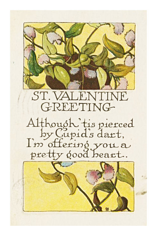 Classic Valentine's Day cards to share instantly - St. Valentine Greeting