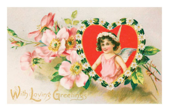 Valentine's Day cards to share digitally - With Loving Greetings