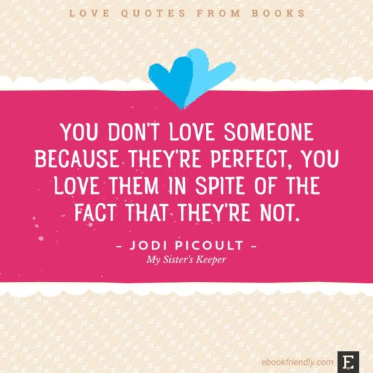 Valentine's Day tips for book lovers - exchange love quotes from literature