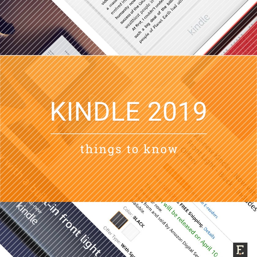 Amazon Kindle 2019 model - things you need to know