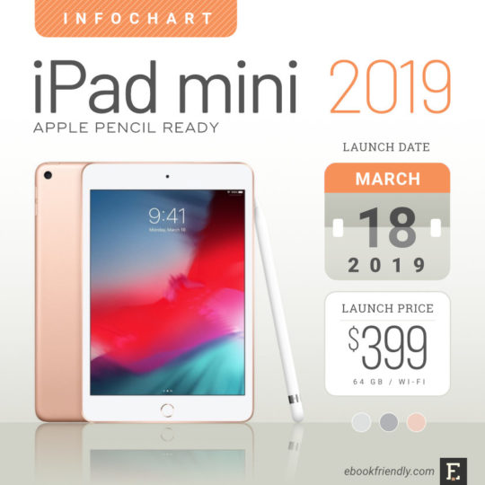Apple iPad mini 5 (2019 release) - full tech specs, comparisons, pictures, and more