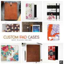 9 best places to get custom iPad cases online