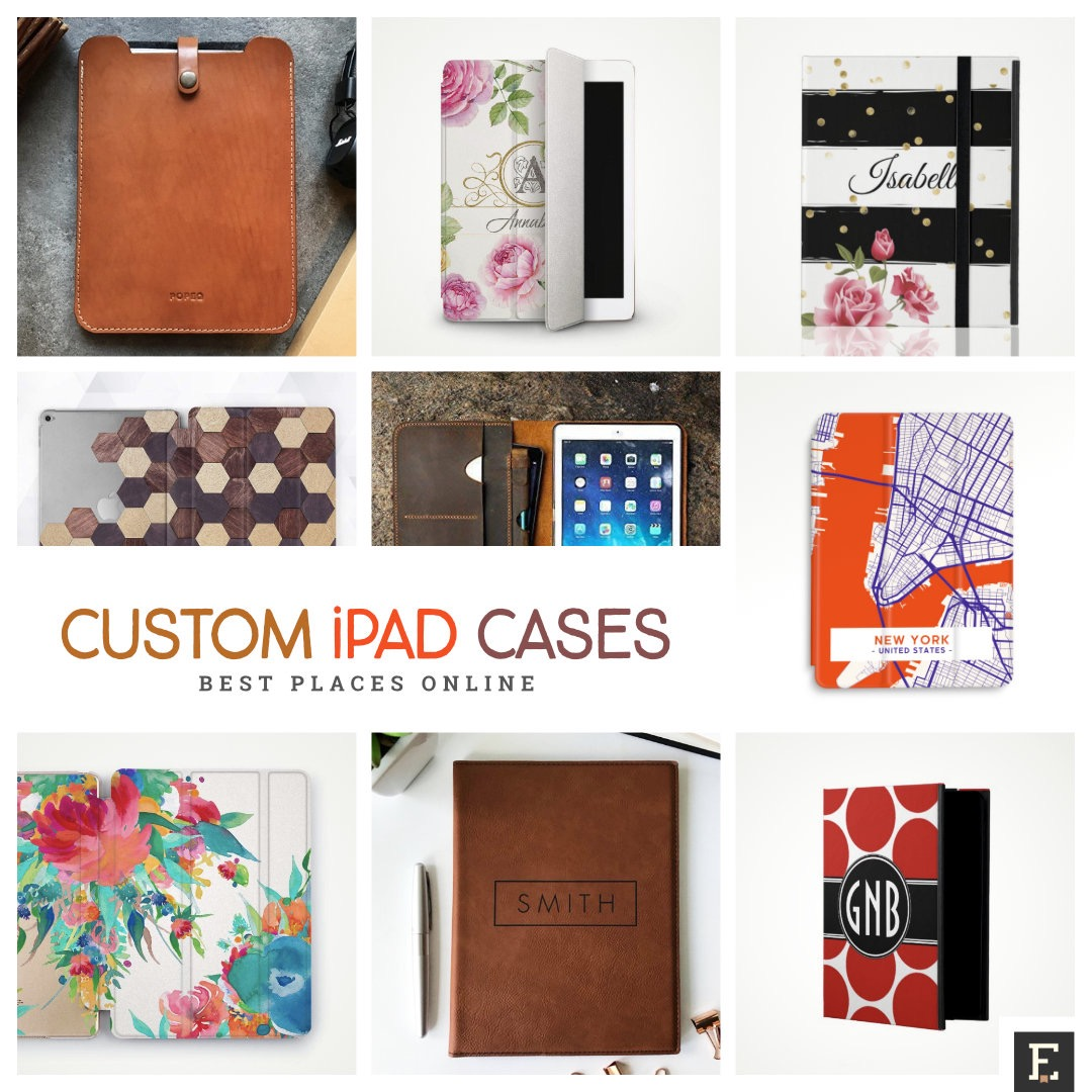 Best online places to get custom iPad and iPad Pro cases and sleeves