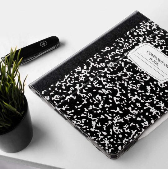 Composition Book iPad Pro 12.9 Case