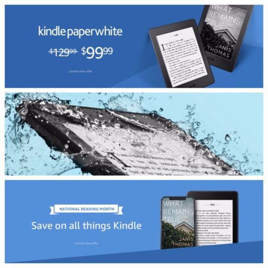 It's National Reading Month! Save $30 on Paperwhite 4, plus other