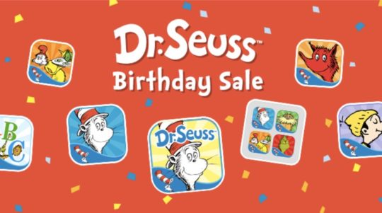Dr. Seuss Treasury app for iPad and iPhone includes most famous books from the master of children's books