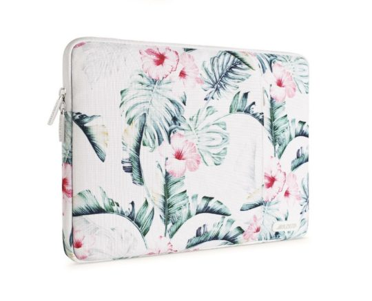 Floral sleeve for MacBook and iPad