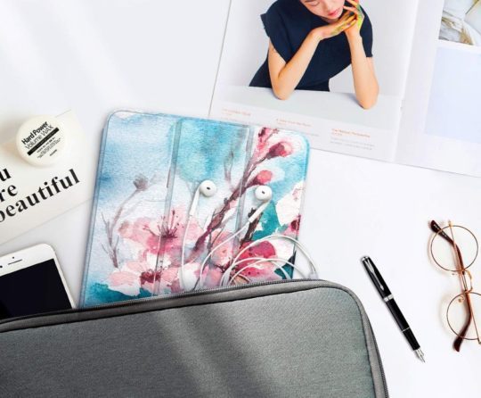 Flower pattern smart case for Apple iPad Pro 12.9