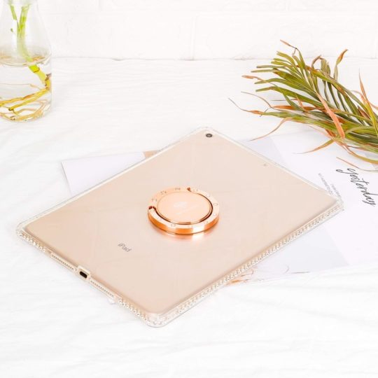 Glitter cute lightweight iPad case with kickstand