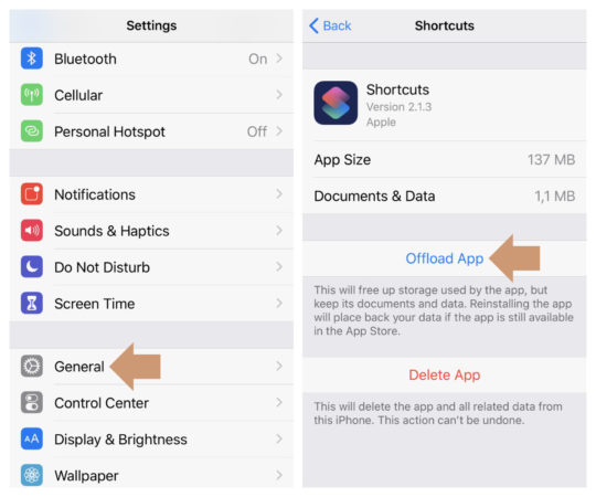 How to offload an iOS app easily and why it is a better way to free up space on your iPad or iPhone