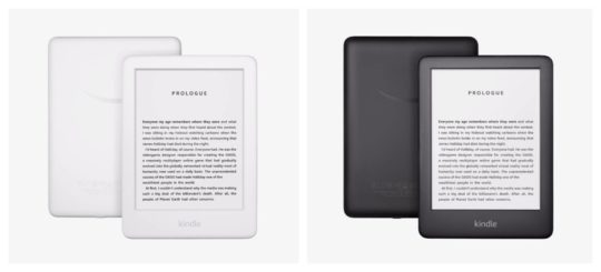 Kindle 2019 has smoother lighter shape