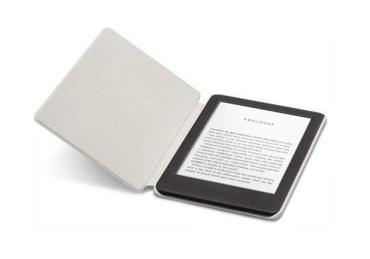 Original Kindle 2019 case cover in Sandstone White color version