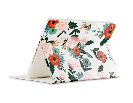 Poetic pattern iPad 9.7 folio stand case