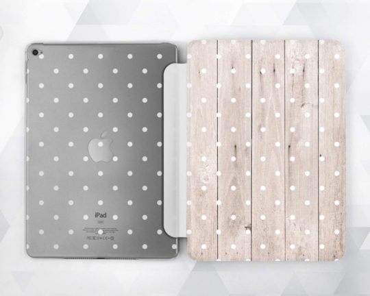 Polka dot  iPad slim case and smart cover