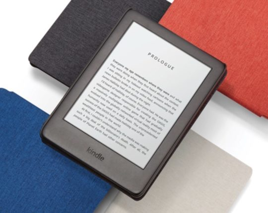 The 2019 Kindle comes with a range of original Amazon case covers