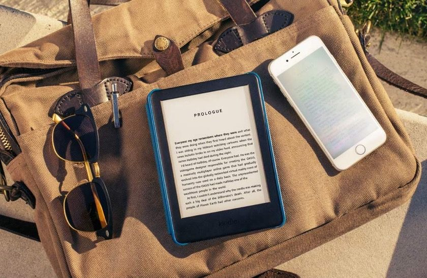The new display of Kindle 2019 is glare free