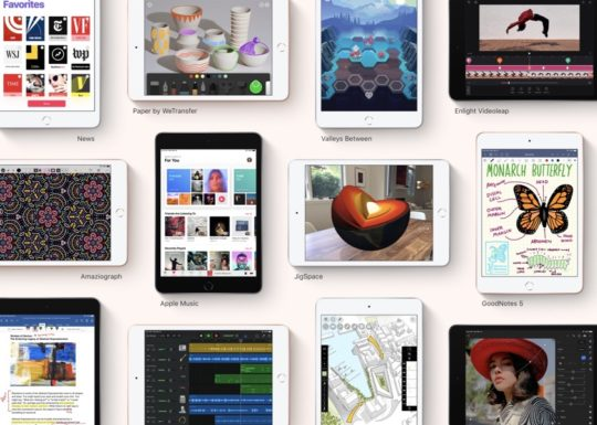 Thousands of iOS 12 apps work seamlessly on iPad mini 5th-generation