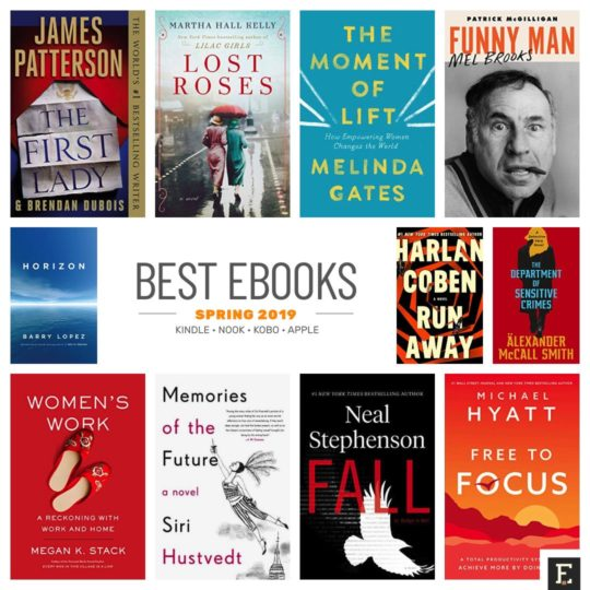 Top 12 most anticipated books of spring 2019
