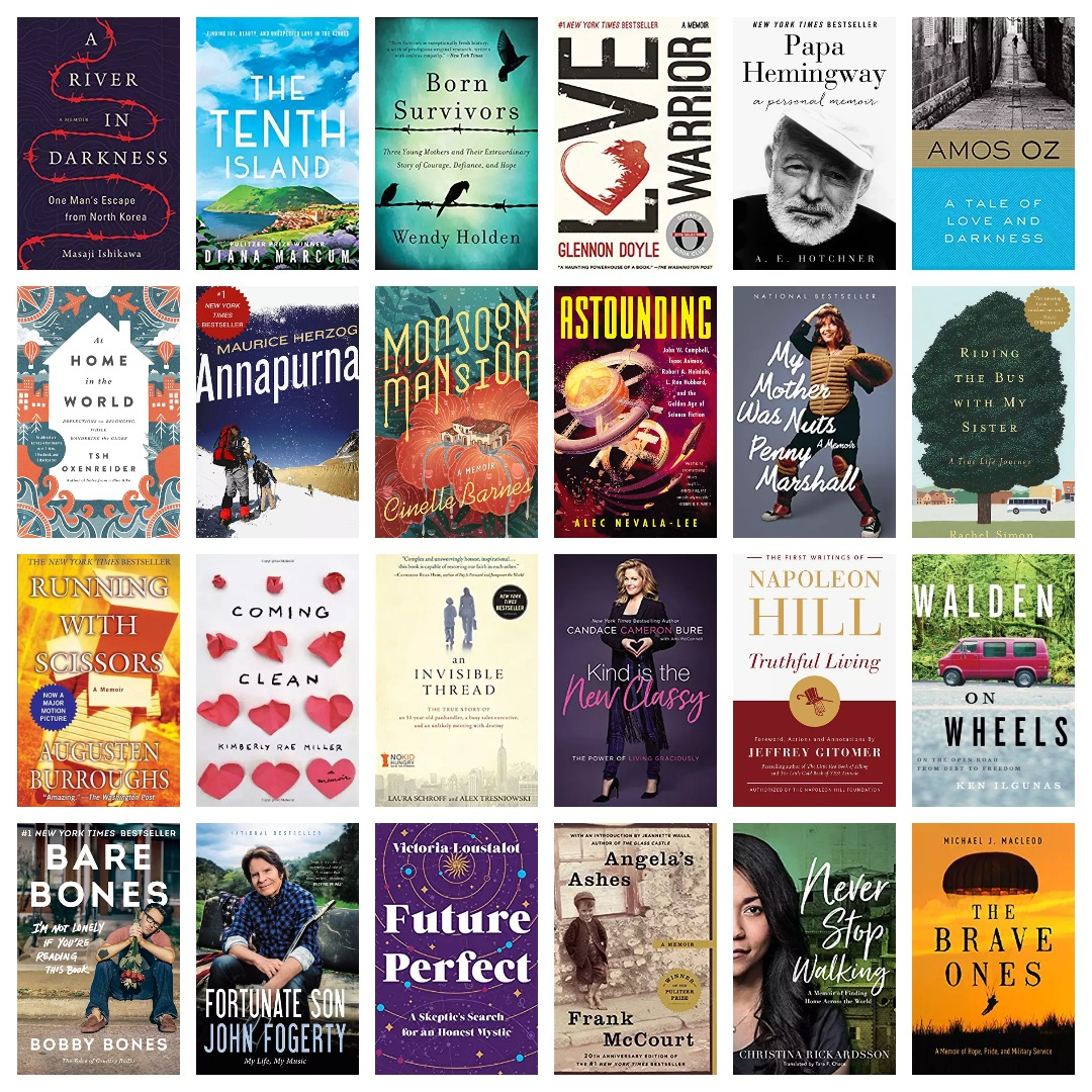 Top-rated Kindle biographies and memoirs National Reading Month 2019