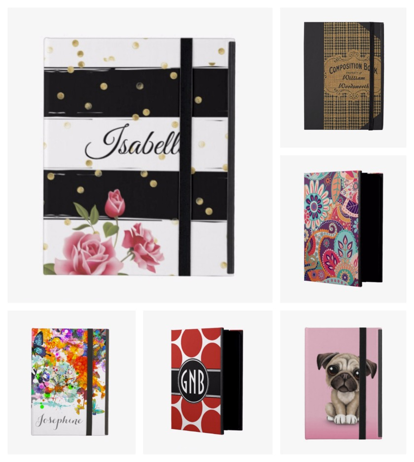 Zazzle offers thousands of fully customizable iPad cases for all tastes