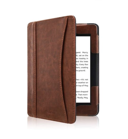 Classic leather Kindle 10-gen case cover