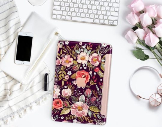 Clique Shops Midnight Floral is one of the best designed iPad Pro 11-inch cases